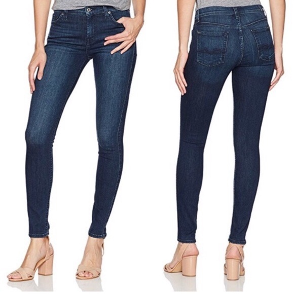 7 For All Mankind Denim - 7 For All Mankind Gwenevere Skinny Jeans (25)